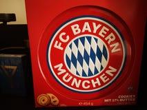 Печенье FC Bayern печений стоковое фото