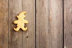 Печенье gingerbread рождества домодельное Стоковые Фото