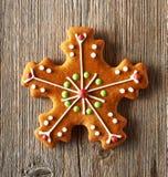 Печенье gingerbread рождества домодельное Стоковое Фото