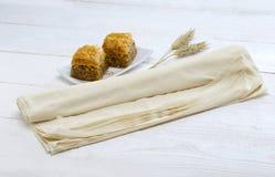 Печенье (phyllo) и помадка baclava Стоковая Фотография RF