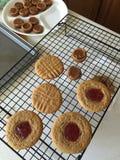 Печенья арахисового масла Стоковое Изображение RF