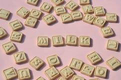 Печенья алфавита Стоковые Фотографии RF