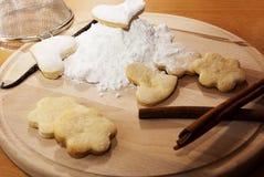 печенья белые Стоковые Фотографии RF