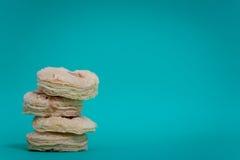 Печенья варенья клубники Стоковые Изображения