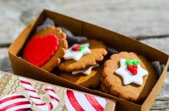 Печенья валентинки Стоковые Фото