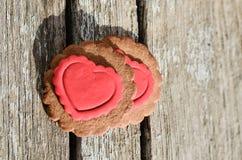 Печенья валентинки Стоковое Изображение RF