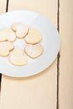 Печенья валентинки shortbread сердца форменные Стоковые Изображения