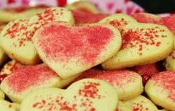 Печенья валентинок Стоковая Фотография RF