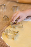 Печенья выпечки стоковая фотография rf