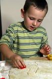 печенья выпечки Стоковые Фотографии RF