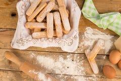 Печенья выпечки Стоковые Фото