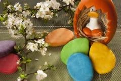 Печенья в весеннем времени Стоковая Фотография