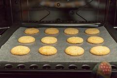 Печенья в печи Стоковая Фотография RF