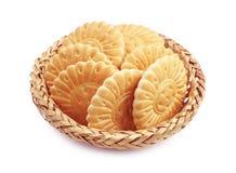 Печенья в плетеном шаре Стоковое Изображение RF