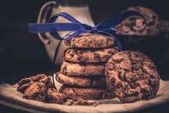 Печенья в стоге Стоковое Фото
