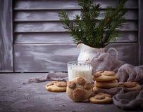 Печенья в форме лапки котов Стоковое фото RF