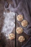 Печенья в форме лапки котов Стоковая Фотография