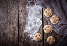 Печенья в форме лапки котов Стоковое Изображение
