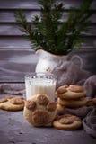 Печенья в форме лапки котов Стоковые Фотографии RF