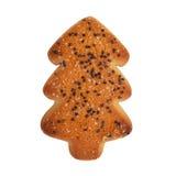Печенья в форме рождественской елки Стоковая Фотография RF