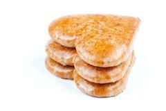 Печенья в форме сердца Стоковые Фотографии RF