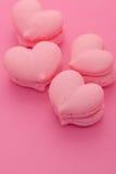Печенья в форме сердец Стоковое Изображение