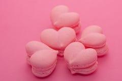 Печенья в форме сердец Стоковое Изображение RF