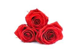 Печенья в форме сердца к дню валентинки на whi Стоковое Изображение