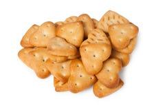Печенья в форме сердца Стоковая Фотография RF