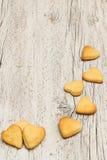 Печенья в форме сердца Стоковое фото RF