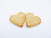 Печенья в форме сердца Стоковое Изображение RF