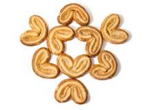 Печенья в форме сердца Стоковые Фото