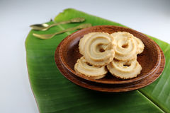 Печенья в шаре кокоса Стоковое фото RF