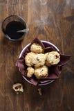 Печенья в шаре с кофе Стоковая Фотография