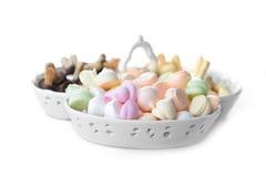 Печенья в шаре фарфора Стоковые Фотографии RF