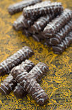 Печенья в шоколаде Стоковые Фото