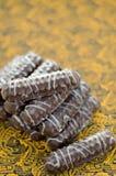 Печенья в шоколаде Стоковое Фото