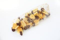 Печенья гайки в мешке Кристмас Стоковое Изображение RF