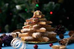 Печенья дерева пряника рождества Стоковая Фотография