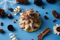 Печенья дерева пряника рождества Стоковая Фотография RF