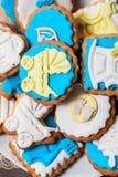 Печенья для дня рождения ребенка Стоковые Фото