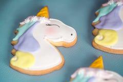 Печенья единорога Стоковые Фотографии RF