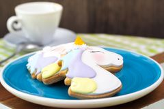 Печенья единорога Стоковая Фотография RF
