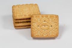 Печенья заварного крема Cream стоковые изображения rf