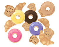 Печенья завтрака Стоковое Фото