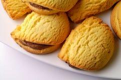 печенья заполненные шоколадом Стоковое Изображение RF