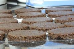 печенья засахаривают помадку Стоковые Изображения RF