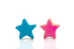 Печенья звезды цвета Стоковые Фотографии RF