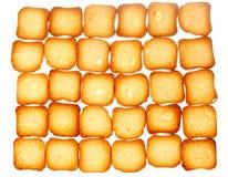Печенья здравицы хлеба сухарей, предпосылка еды диеты Стоковое Фото