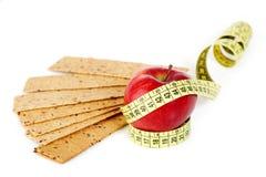 печенья измеряют портняжничать желтый цвет стоковое фото